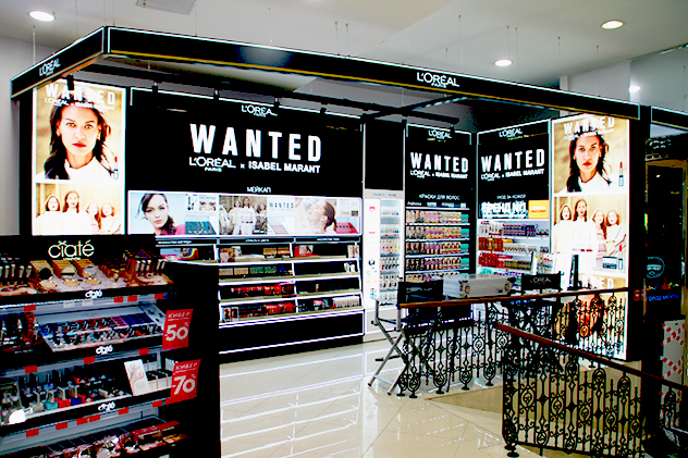 Shop-in-Shop L`Oreal